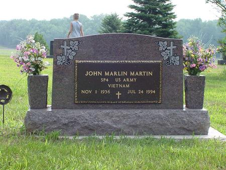 MARTIN, JOHN MARLIN - Wright County, Iowa | JOHN MARLIN MARTIN