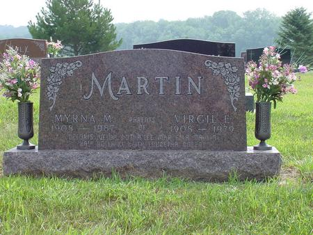 MARTIN, VIRGIL E. - Wright County, Iowa | VIRGIL E. MARTIN