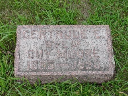 MOORE, GERTRUDE E. - Wright County, Iowa | GERTRUDE E. MOORE