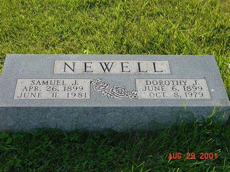 NEWELL, SAMUEL J. - Wright County, Iowa | SAMUEL J. NEWELL