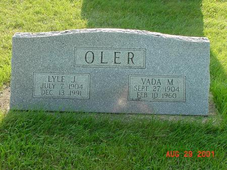 OLER, VADA MARY - Wright County, Iowa | VADA MARY OLER