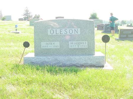 OLESON, LAURENCE E. - Wright County, Iowa | LAURENCE E. OLESON