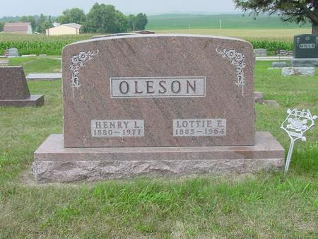 OLESON, LOTTIE E. - Wright County, Iowa | LOTTIE E. OLESON