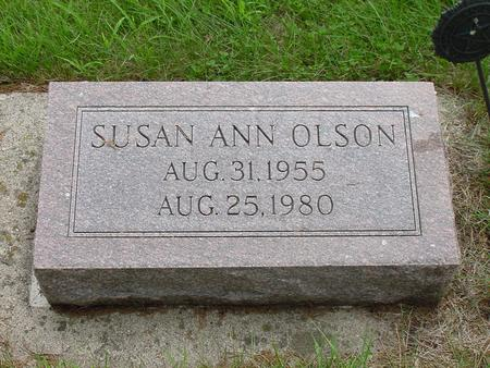 OLSON, SUSAN ANN - Wright County, Iowa | SUSAN ANN OLSON
