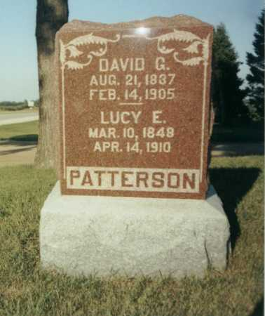 PATTERSON, LUCY E. - Wright County, Iowa | LUCY E. PATTERSON