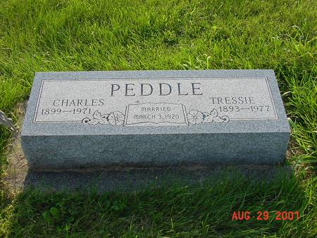 PEDDLE, CHARLES - Wright County, Iowa | CHARLES PEDDLE
