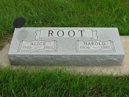 ROOT, HAROLD - Wright County, Iowa | HAROLD ROOT