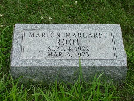 ROOT, MARION MARGARET - Wright County, Iowa | MARION MARGARET ROOT