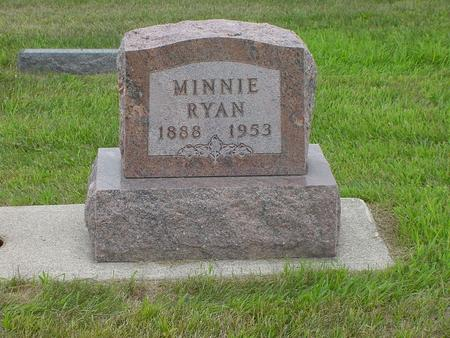 RYAN, MINNIE MARGARET - Wright County, Iowa | MINNIE MARGARET RYAN