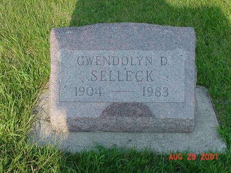 SELLECK, GWENDOLYN D. - Wright County, Iowa | GWENDOLYN D. SELLECK