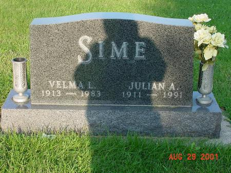 SIMES, JULIAN A. - Wright County, Iowa | JULIAN A. SIMES