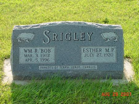 SRIGLEY, ESTHER M. P. - Wright County, Iowa | ESTHER M. P. SRIGLEY
