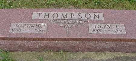 THOMPSON, LOUISE - Wright County, Iowa | LOUISE THOMPSON