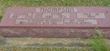 THOMPSON, THEODORE - Wright County, Iowa | THEODORE THOMPSON