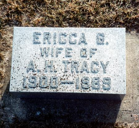 TRACY, ERICCA - Wright County, Iowa | ERICCA TRACY