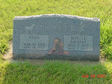 TURNER, MYRTLE - Wright County, Iowa | MYRTLE TURNER